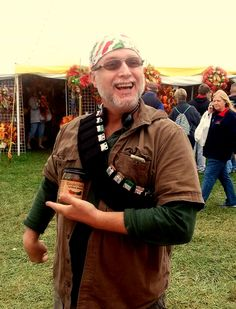 Utzi played a mean harmonica and also got his spicy on at the Ozark Fall Festival, 2014.