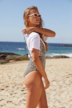 b9e6e1b57c7 Urban Outfitters Minkpink Safari One-Piece Swimsuit - Multi Swimsuits,  Bikinis, Swimwear,