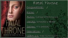 Books on Fire (ehemals Books on PetrovaFire): [Rezi] Candace Fleming u.a. - Fatal Throne: The Wi...