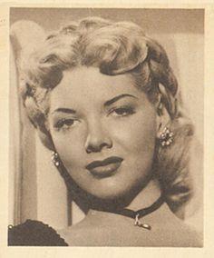 1948 Bowman Movie Stars Barbara  Lawrence #23 Non-Sports Card