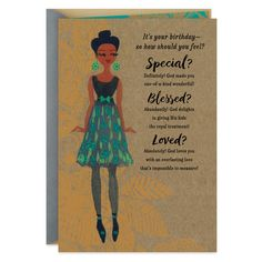 Wish a wonderful girl a fabulous birthday. Religious birthday card for her features an illustration of a stylish fashionista in a glittery outfit and a Bible verse from Psalm 118:24. Happy Birthday Emoticon, Happy Birthday Wishes For A Friend, Happy Birthday Black, Happy Birthday Celebration, Happy Birthday Pictures, Birthday Wishes Quotes, Happy Birthday Sister, Birthday Cards For Her, Fabulous Birthday