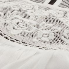 Embroidered Lace Top | Lace Details | Abercrombie.com