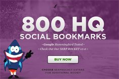 add your site to 800 SEO social bookmarks high quality backlin... by crorkservice
