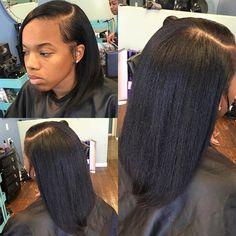 "Natural healthy hair  press n"" Curl w| end trim #LAhairstylist #LAhairstylist { link in bio } by hairstylistof_la"
