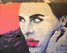 """Mural by female street artist Zina """"Femme Fierce, the largest all-female street art event in the UK is dedicated to unearthing and highlighting the best of the burgeoning female artists on the street art scene."""