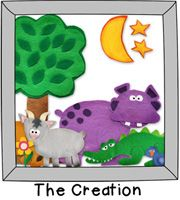 Printable Scripture Story Downloads...The Creation, Adam and Eve, Jonah and the Whale, The 10 Commandments