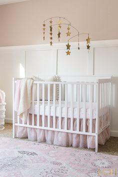 Baby Girl Nursery Room Ideas | Baby Girl Nursery Themes | Nursery Pink and Gold Decor | How to Design a Nursery | Nursery Design Tips | Nursery Decorating Ideas Girl #nursery #babygirl #nurserydecor #designtips #nurseryideas