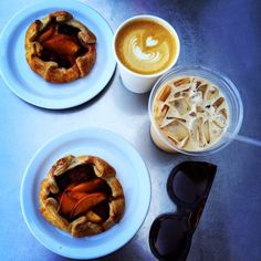 Weekly Picks. Coffee and Pastries from Proof Bakery in Los Angeles, California.
