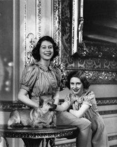 Margaret and Elizabeth Windsor