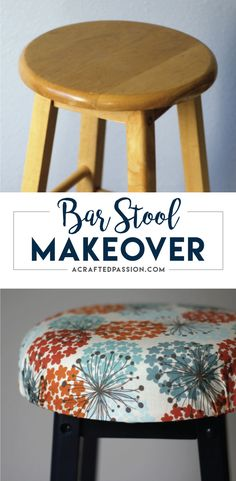 Easy Bar Stool Makeover