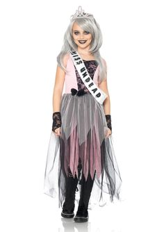 zombie princess costume for girls | Girls Zombie Prom Queen 2013 Halloween Costume Online | The Costume ...