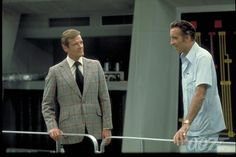 RM and Christopher Lee as Scaramanga