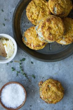 Gorgonzola and Sweet Potato Biscuits | Pink Patisserie
