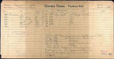 african cherokee identification card - Google Search