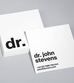 Browse Square Business Card Design Templates | MOO (United ...