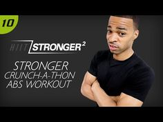 30 Min. STRONGER: Crunch-a-Thon Abs Workout | HIIT/STRONGER 02: Day 10 - YouTube