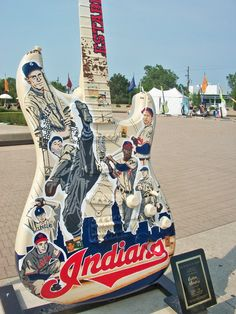 Take Me Out To the Ballgame - Cleveland Indians Guitar from Guitar Mania 2012