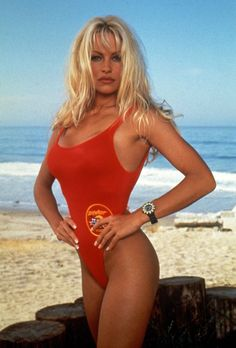 1992 byl rokem, kdy celý svět poprvé spatřil Pamelu (a její štědře obdařený hrudník) v seriálu Pobřežní hlídka.