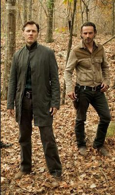 Rick and the Governor - TWD