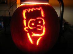 bart simpsons pumpkins halloween