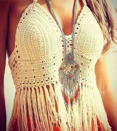 Lace crochet top summer style fringe tops bralette sexy crop top tassel  knitted camis fitness women top ganchillo strappy bra SWHTT0001 d8194f194