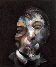 Bacon, Francis 1909-92 Self-Portrait  1971 (200 Kb); Oil on canvas, 35.5 x 30.5 cm (14 x 12 in)  Expressionism