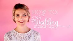 A tutorial on applying wedding makeup for an easy and beautiful look by Erica Davidson of Pretty Pleased for Inspired by This!