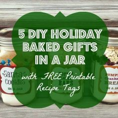 DIY Holiday Baked Gifts in a Jar