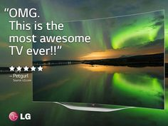 LG OLED Curved Smart TV