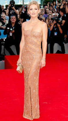 Kate Hudson's 10 Best Red Carpet Looks Ever - Atelier Versace, 2012 from #InStyle
