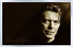 David Bowie - Plastic Fridge Magnet B