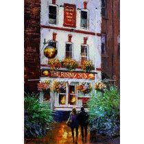 The Rising Sun Manchester Pub Fine Art Print from a painting by E Anthony Orme