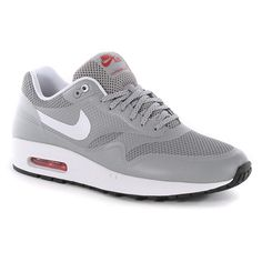 Nike Air Max 1 Hyperfuse Qs Shoes - Matte Silver-White