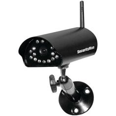 SECURITYMAN SM-816DT Add-on Digital Indoor/Outdoor Wireless Camera with Night Vision & Audio