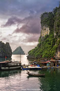 ~~Halong Bay | sitting on the throne of heaven, floating village, Gulf of Tonkin,Unesco World Heritage site, Northern Vietnam | by Julvar~~