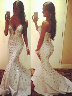 Sexy Sequins Chiffon Prom Dresses, Real Made Floor-Length Prom Dresses, Beading Prom Dresses, A-Line Prom Dresses, Charming Sleeveless Evening Dresses,