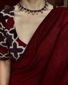 "58 Likes, 1 Comments - Margazhi (@margazhidesigns) on Instagram: ""FebruaryLooks . . . Comfort Dressing || #wearsaturdaytoo . . . . Choker : @house_ofjhumkas Saree…"""