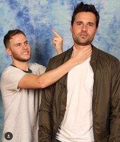Iain and Brett. How many times am I going to say I love the AoS cast? As many as it takes!