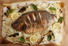 Whole Roasted Turbot - give it a try.