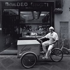 Outside Amedeo Giusti, a bakery in central Lucca. Travel & Leisure article: Undiscovered Tuscany