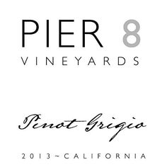 2015 Pier 8 Pinot Grigio 750 mL Wine ** Check this awesome product by going to the link at the image.