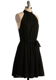 Black beautiful back dress