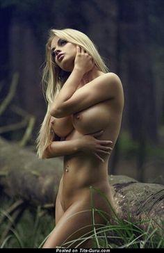 Naked hot lady with big boobs image #big_boobs #boobs #tits #nude #erotic #сиськи #голая #эротика #titsguru
