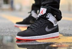 nike shoes outlet Air Jordan 1 High Retro 89 Black Cement for summer 2014 chcheap nike shoes Sneaker Outfits, Nike Outfits, Converse Sneaker, Puma Sneaker, Jordan Outfits, Sneakers Mode, Best Sneakers, Sneakers Fashion, Running Sneakers