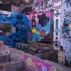 Graffiti wall, Austin