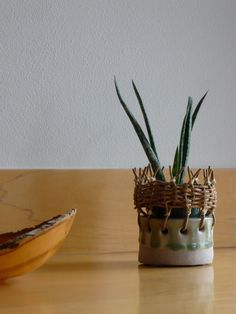 tw pottery: baskets