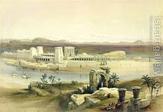 General View of the Island of Philae by David Roberts