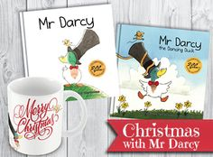 Three hardback picture books featuring Mr Darcy, a polite duck. Mr Darcy Mr Darcy is a rather reserved, gentle duck. Mr Darcy would never want to bother. Dancing Duck, Mr Collins, Mr Darcy, Christmas Pudding, Spring Sign, Maya Angelou, Pride And Prejudice, Great Love, Jane Austen