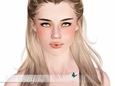 Lindsey Blue female model by Ms Blue - Sims 3 Downloads CC Caboodle