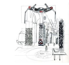 Concept Art © Eddie Peña #studio1482 #illustration #design #art #drawing #reportage